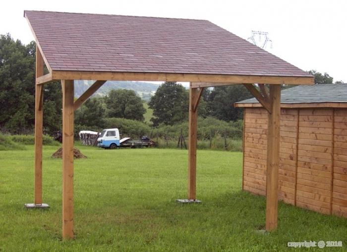 Quel soubassement pour votre abri de jardin en bois for Isoler son jardin des regards
