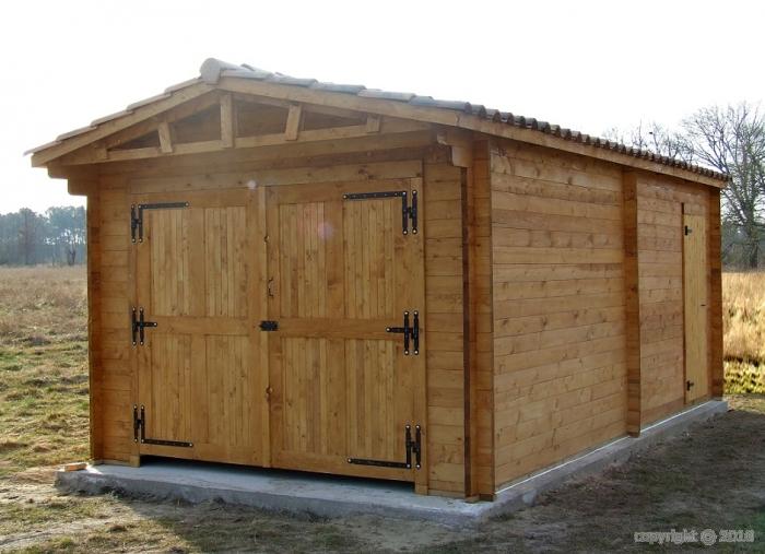 Quel soubassement pour votre abri de jardin en bois - Dalle beton pour abri de jardin en bois ...