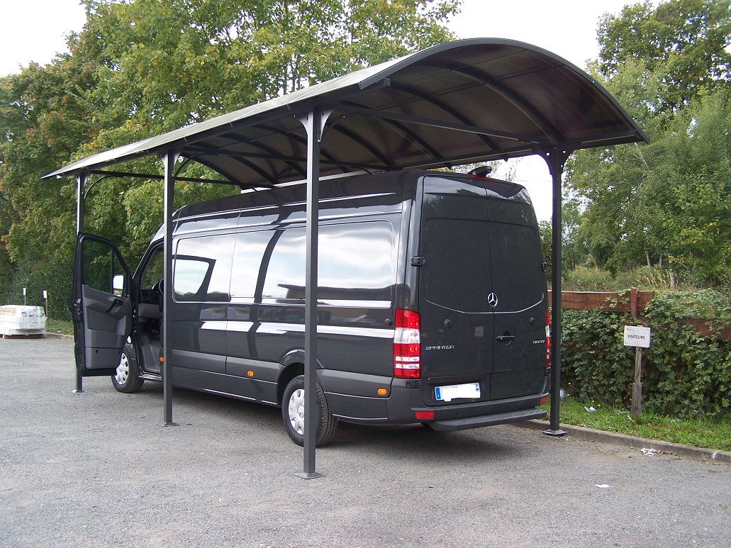 carport camping car en aluminium 3 60x7 60m 27 m2. Black Bedroom Furniture Sets. Home Design Ideas