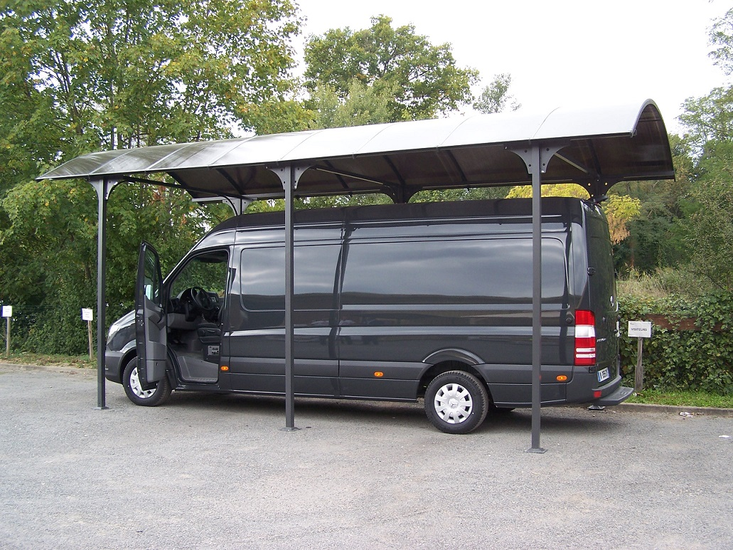 carport en bois camping car. Black Bedroom Furniture Sets. Home Design Ideas