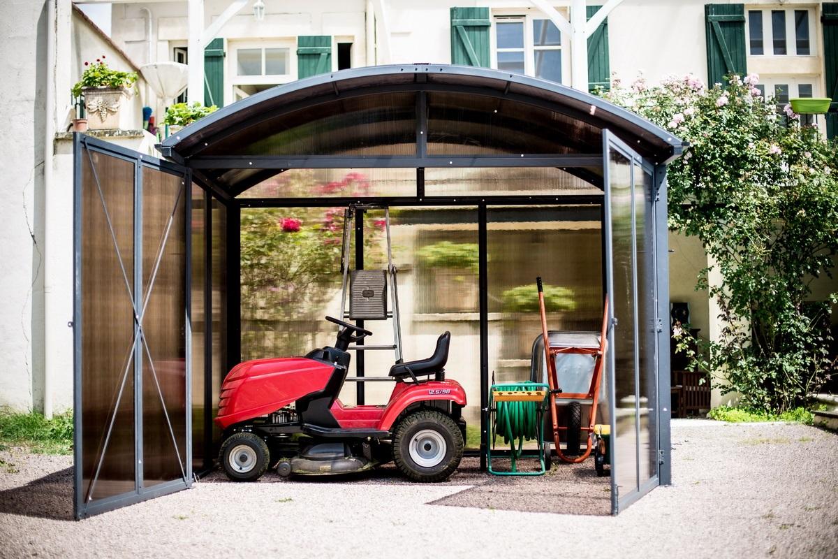 abri de jardin en aluminium et polycarbonate 7 20 m2 abrirama aal30244c l 39 abri. Black Bedroom Furniture Sets. Home Design Ideas