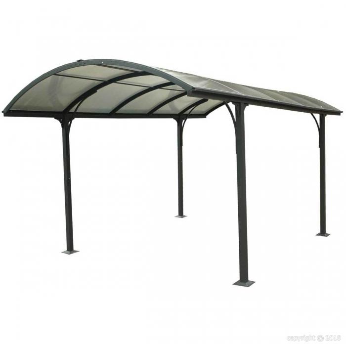abri voiture carport aluminium 3x4 85m 15m2 abrirama car3048alrp l 39 abri de. Black Bedroom Furniture Sets. Home Design Ideas