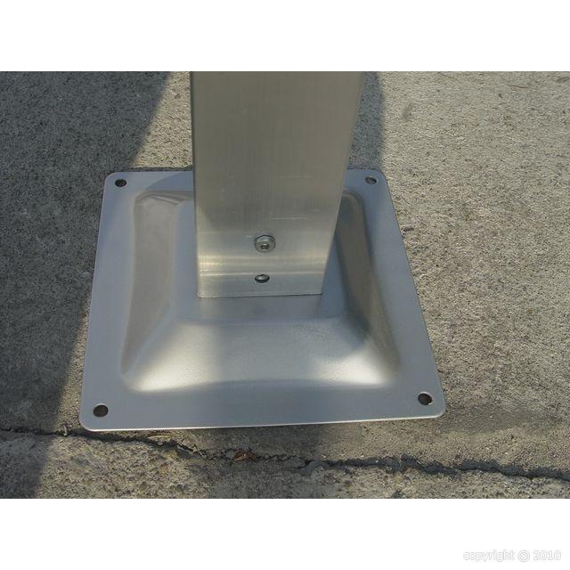 Abri voiture carport double en aluminium 29m2 abrirama car6048alrp l - Abri voiture aluminium ...
