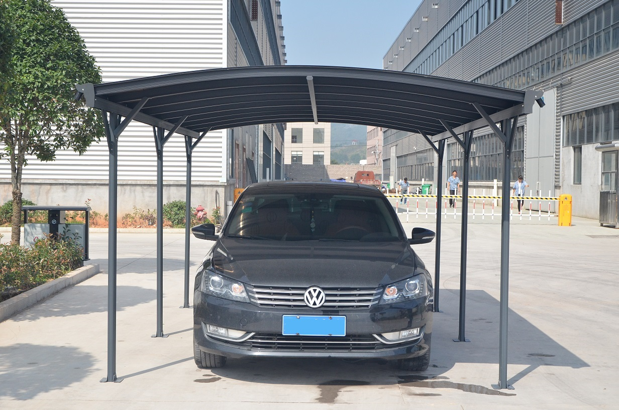 carport abri voiture 5x3 m anthracite abrirama cp7 l 39 abri de jardin moins cher. Black Bedroom Furniture Sets. Home Design Ideas