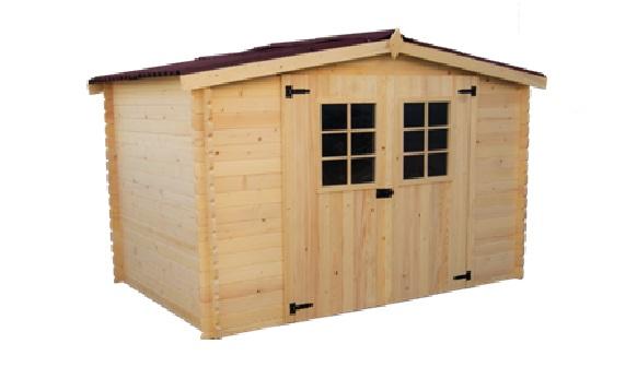 abri de jardin bois alpina 3x2 m abrirama abris de jardin bois carports camping car. Black Bedroom Furniture Sets. Home Design Ideas
