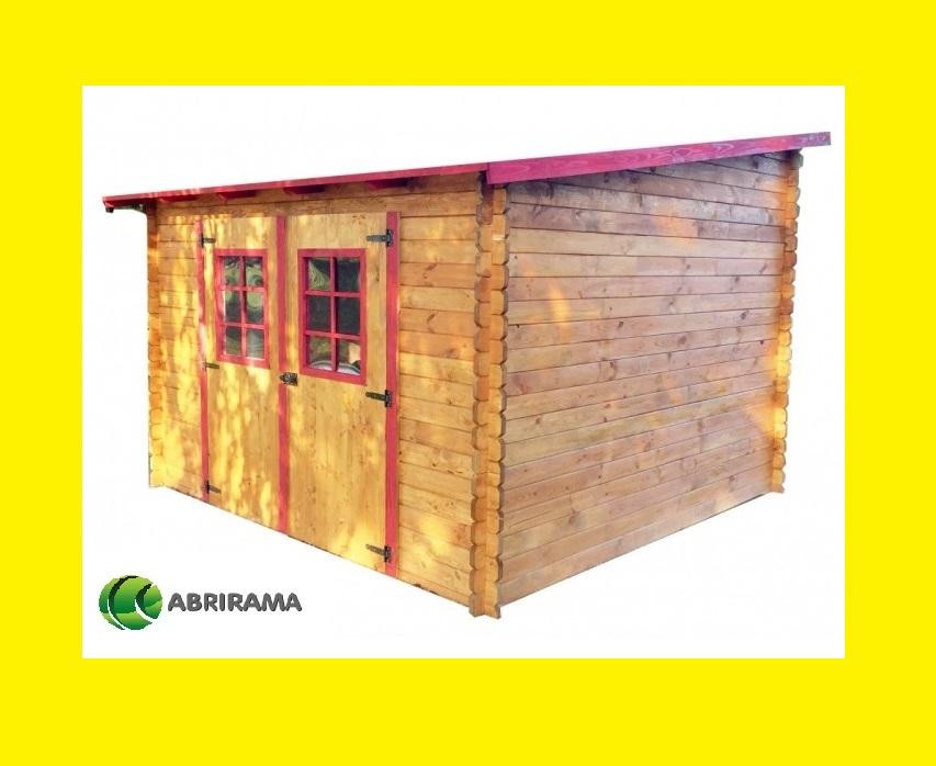 Abri de jardin bois lantosque 3x3 m abrirama - Abris de jardin m x m en bois aulnay sous bois ...