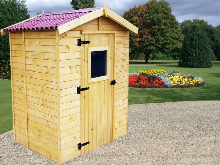 Abri de jardin bois eden x avec plancher - Abris de jardin avec plancher ...