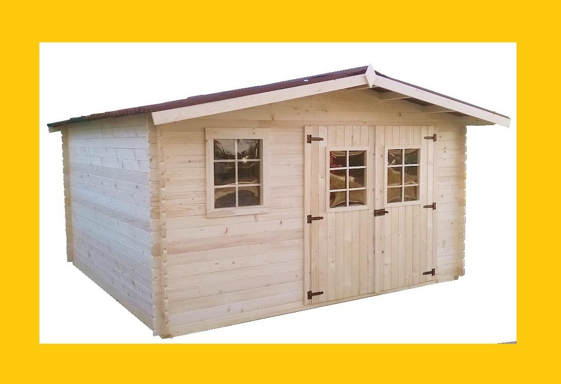 abri de jardin en bois capri 4x4 m abrirama abris de jardin bois carports camping. Black Bedroom Furniture Sets. Home Design Ideas