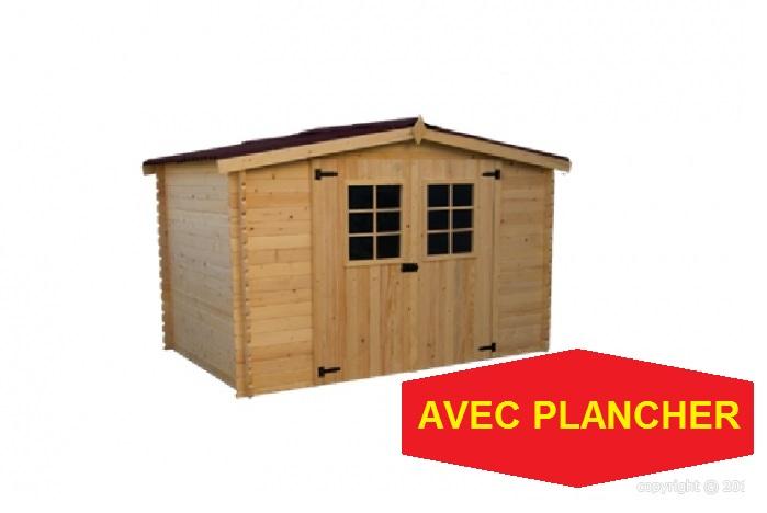 abri jardin avec plancher Alpin 3,10x3,04m 9,42m2 ABRIRAMA AL3030 ...