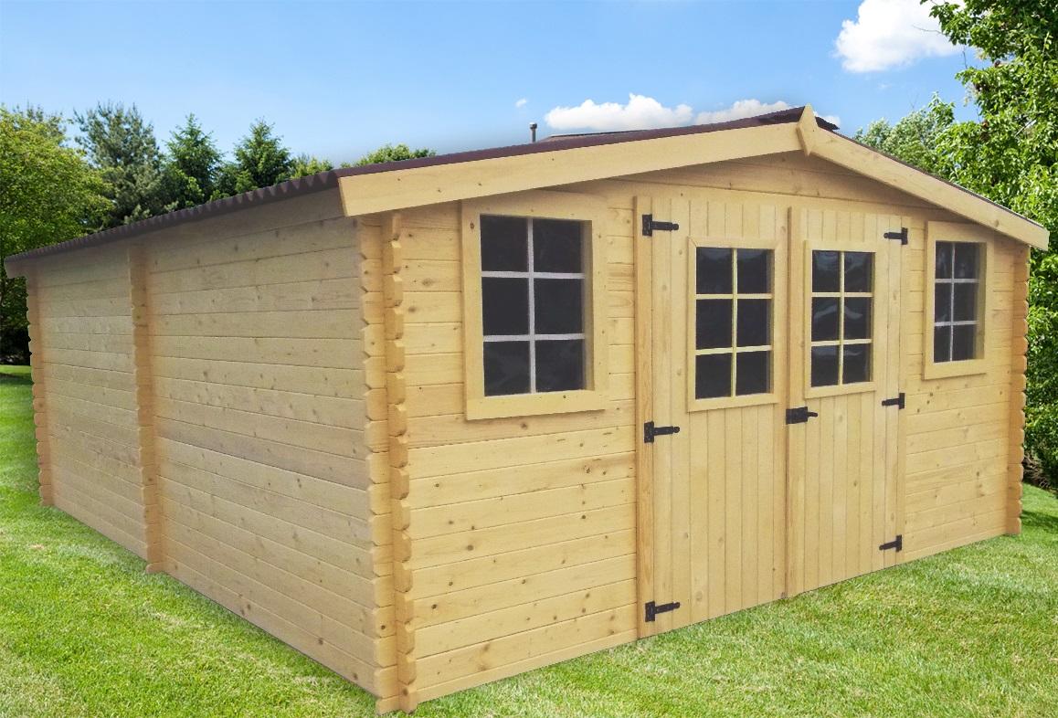 abri jardin bois bandol 4x5m 20m2 sans plancher abrirama. Black Bedroom Furniture Sets. Home Design Ideas