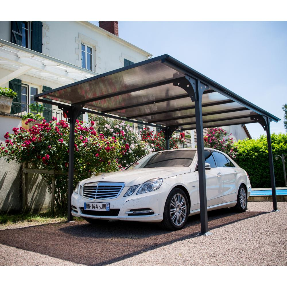 carport aluminium 2 94x5 m abrirama car3050altp abris de. Black Bedroom Furniture Sets. Home Design Ideas