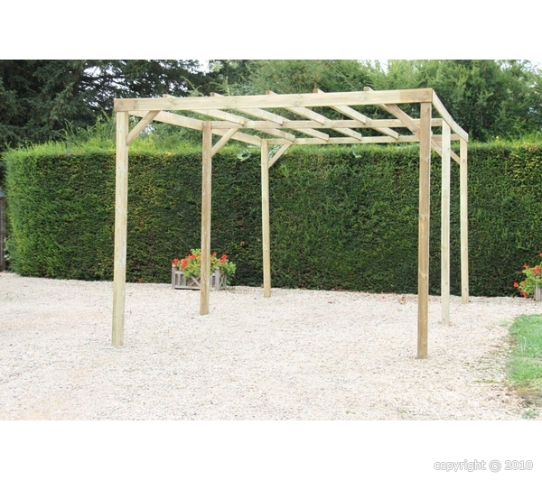 pergola bois 3x5m 15m2 abrirama car3050a abris de jardin. Black Bedroom Furniture Sets. Home Design Ideas